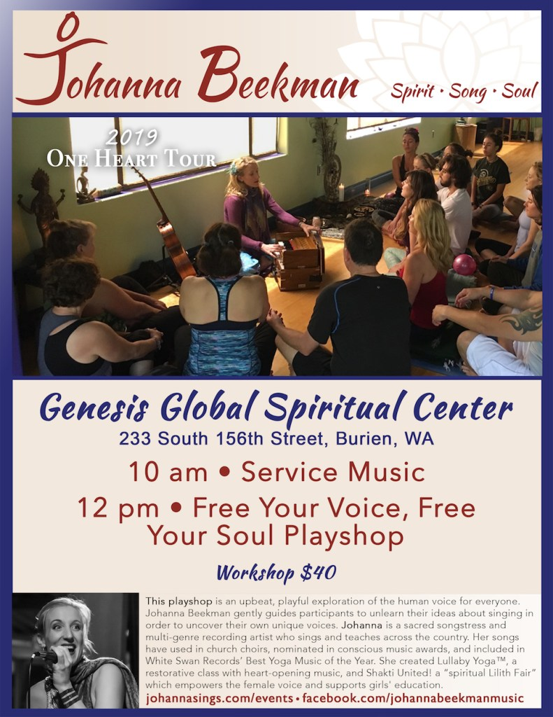 2019 Johanna Poster Genesis Global