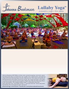 Lullaby Yoga Poster