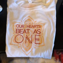 Women's Classic Heart Beats One Tee, White