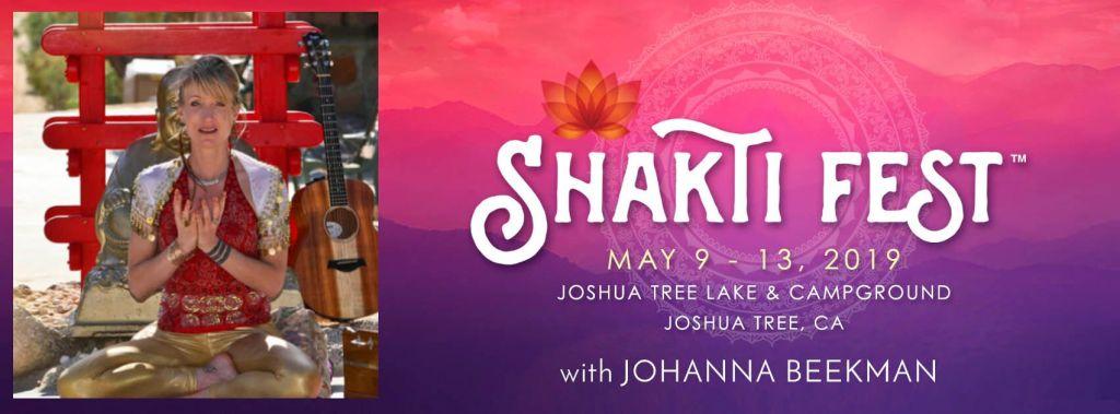 Johanna Shakti Fest image