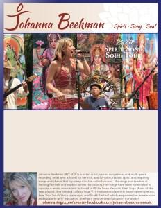 2020 Johanna Poster SINGLE EVENT GOSPEL KIRTAN TEMPLATE 8.5x11 copy