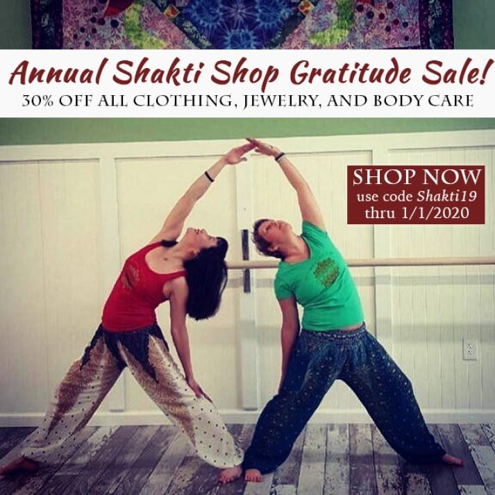 Shakti Shop Gratitude sale image