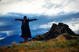 Johanna on the hill