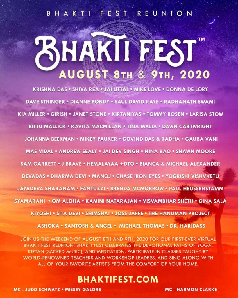 Bhakti Fest Reunion poster