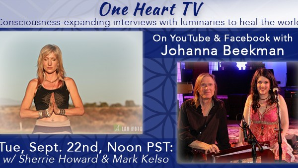One Heart TV Facebook Event Banner Sherrie And Mark