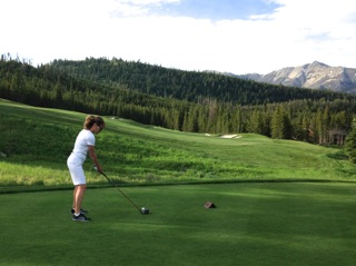 johanne bouchard golfing