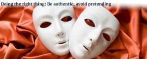 avoid pretending