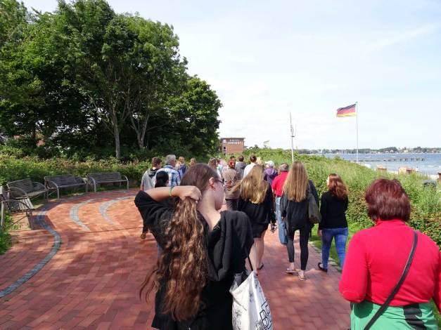 Strandausflug mit der Johannes Kuhn-Stiftung