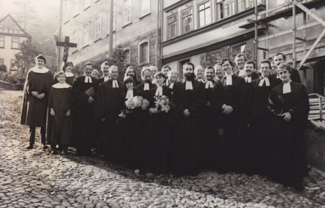 Ordination am 31.10.1982 in der Georg-Kirche, Eisenach.