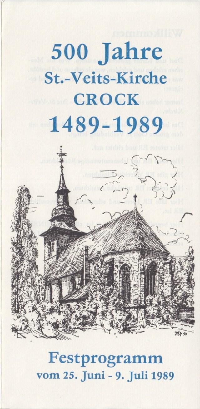 Festprogramm 1989
