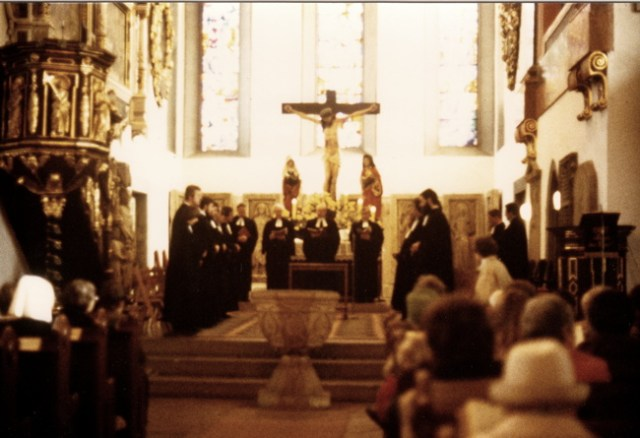 Ordination am 31.10.1982 in der Georgen-Kirche Eisenach.