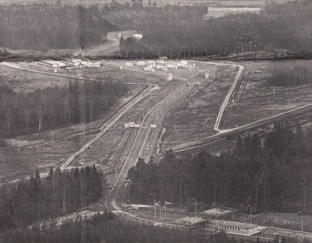 Grenzübergang Eisfeld-Rottenbach vor 1989.