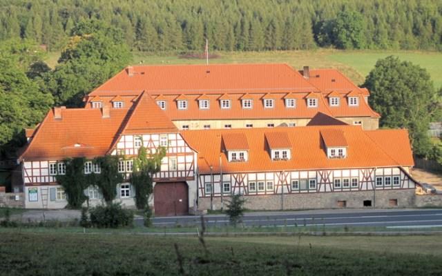 Das Johannitergut Beinrode im Eichsfeld.