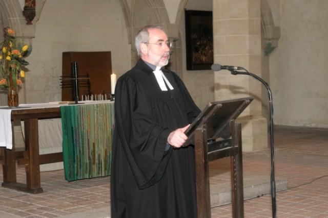 Amtseinführung, Predigt über den Hauptmann von Kapernaum.