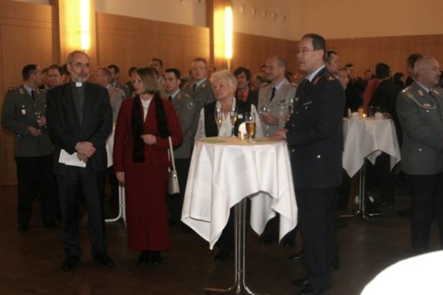 Anschließend Stehempfang, Ratsgymnasium Erfurt.