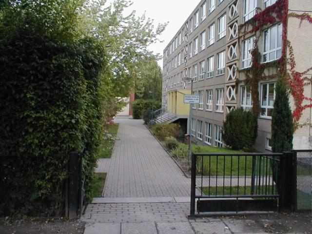 Das Gebäude der Staatlichen Regelschule in Mühlhausen.