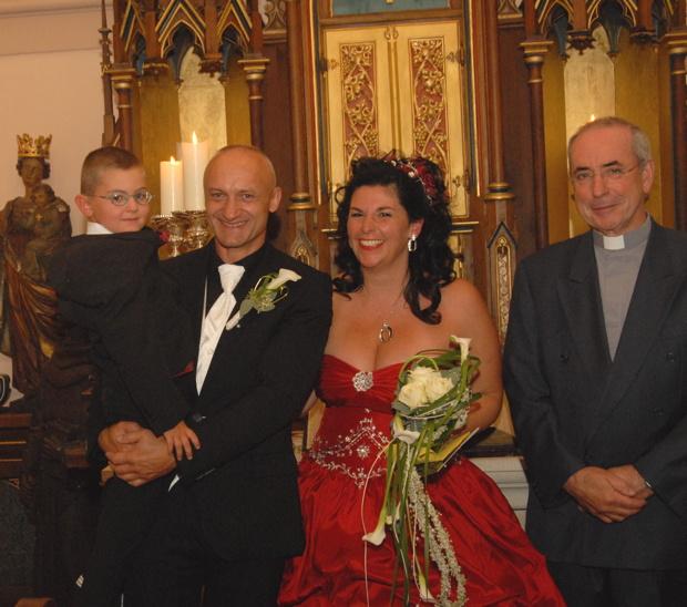 Andacht zur Eheschließung, Kapelle Wachsenburg / Thüringen; September 2012