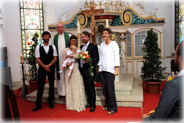 Hochzeit und Taufe in Ruhla