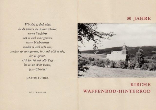 Einladungskarte 50 Jahre