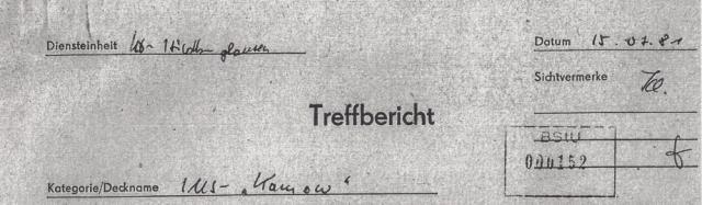 Deckblatt 1981