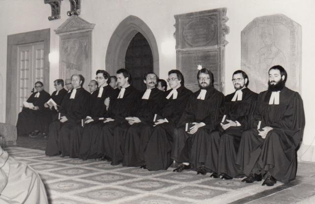 Ordination 1982, Eisenach St. Georg Kirche