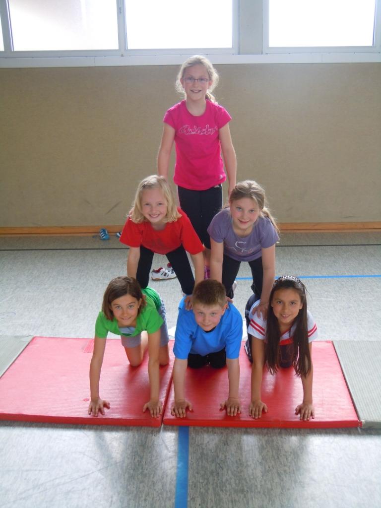 Akrobatik im Sportunterricht 2012