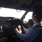 Flying the B738