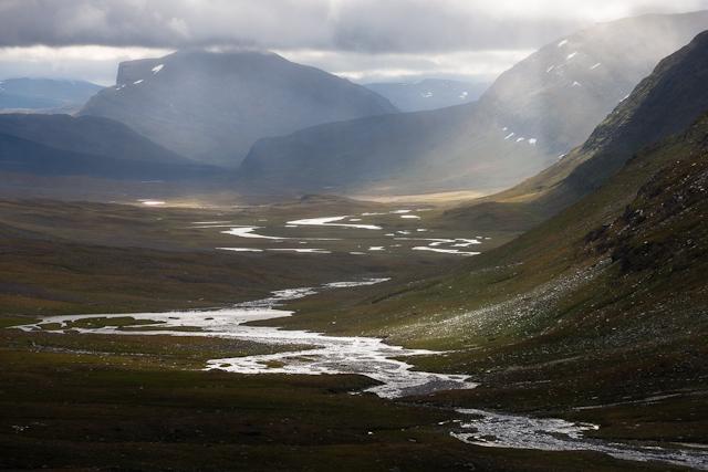 Utsikt från Tjätjkapasset