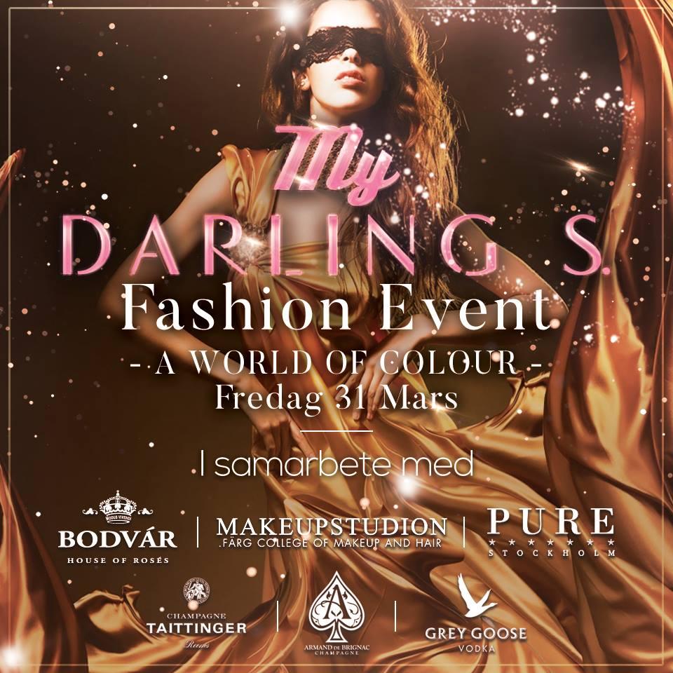 Darling S. Fashion Event på Pure Nightclub Stockholm