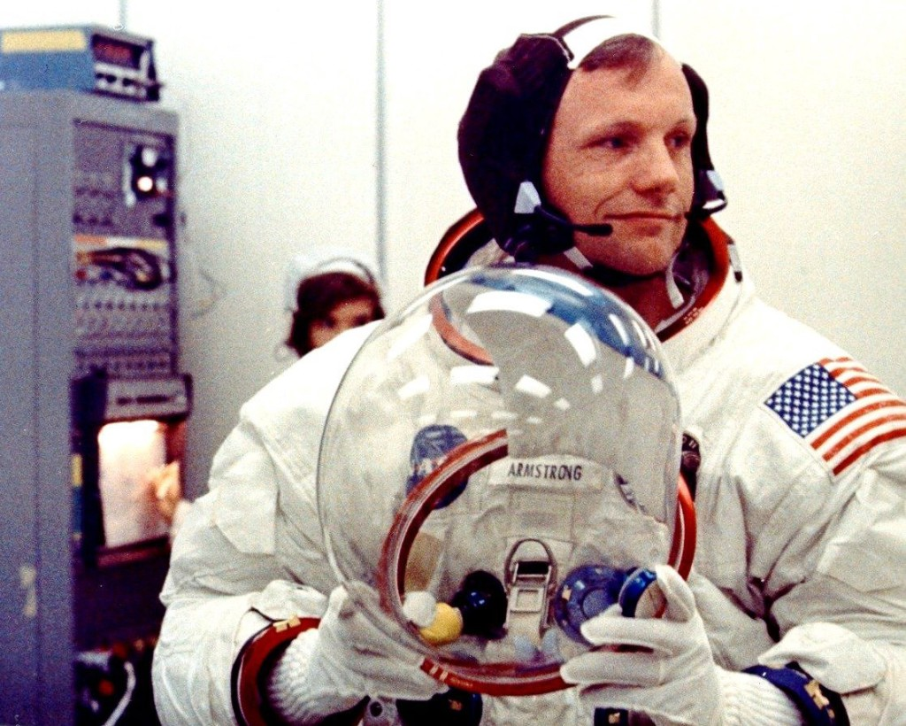 Young Neil Armstrong