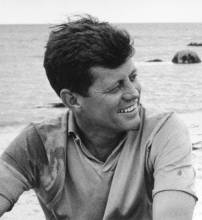 John F. Kennedy At Hyannis, 1959. © 2000 Mark Shaw