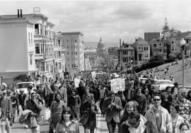 War Protest- San Francisco, 1967
