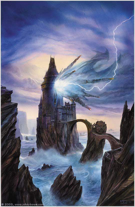 John Howe  Illustrator  Portfolio  Home  Cover Art  The Ironsea Tower