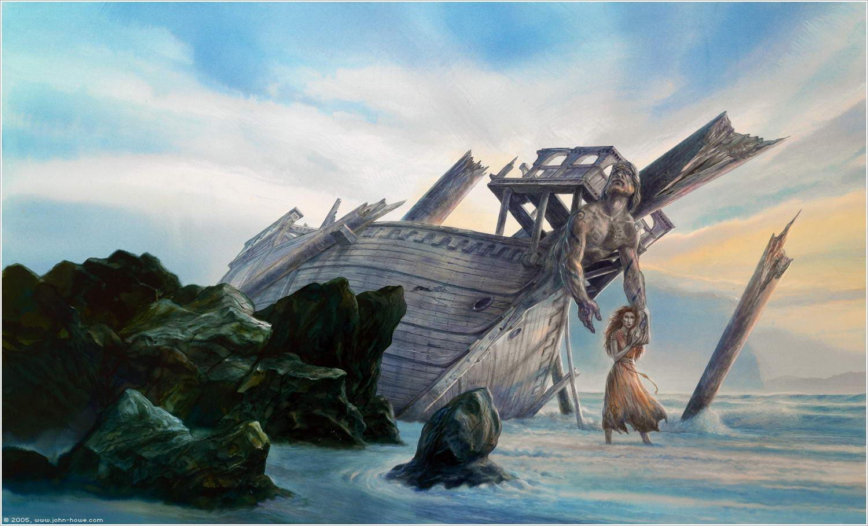 Resultado de imagem para liveships traders art