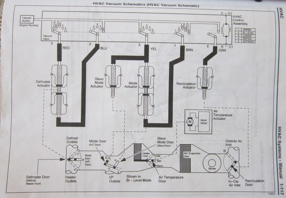 medium resolution of 99 suburban vacuum hose diagram