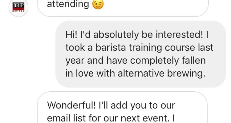 Milestone: Getting an Event Invite