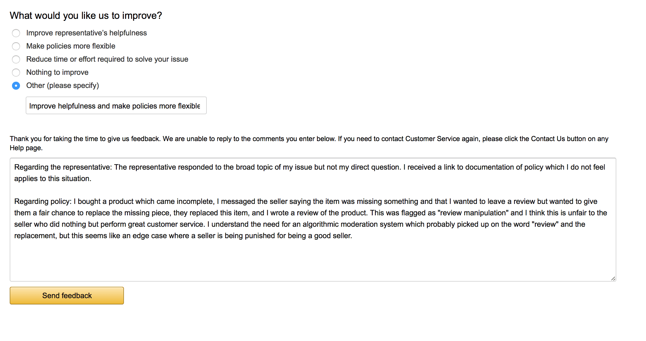 Amazon Reviews: Talking to Bots