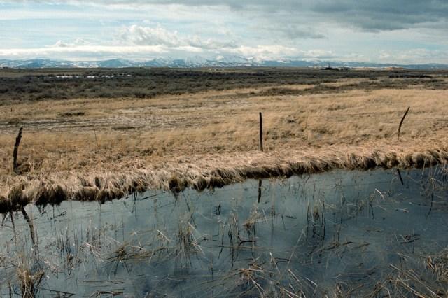 North Park, looking towards the Rawah's, Jackson County, Colorado (2015)