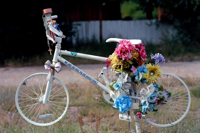 Roadside Memorial, Questa, New Mexico (2014)