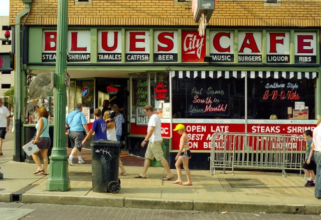 Blues City Cafe, Beale Street, Memphis, Tennessee (2014)