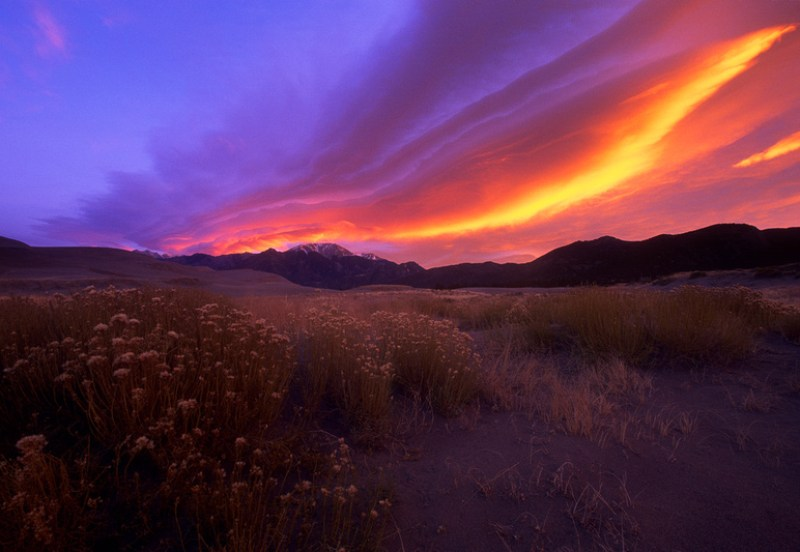 Sunrise, Great Sand Dunes National Park