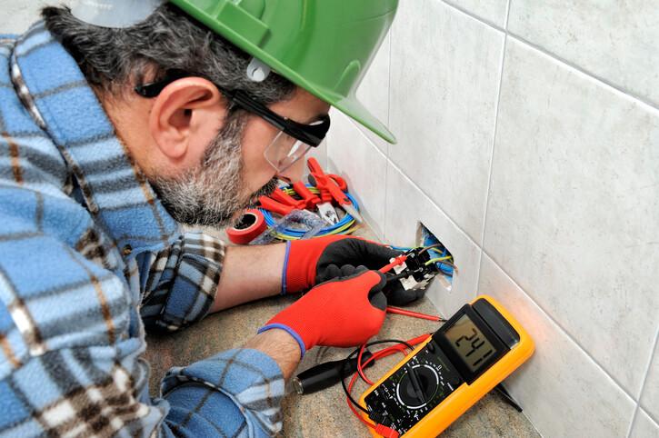 john betlem expert electrician at work