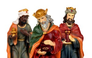 Three kings from the Bible