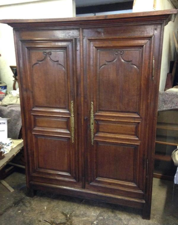 Antique Louis Xv Armoire - Cupboards & Chests