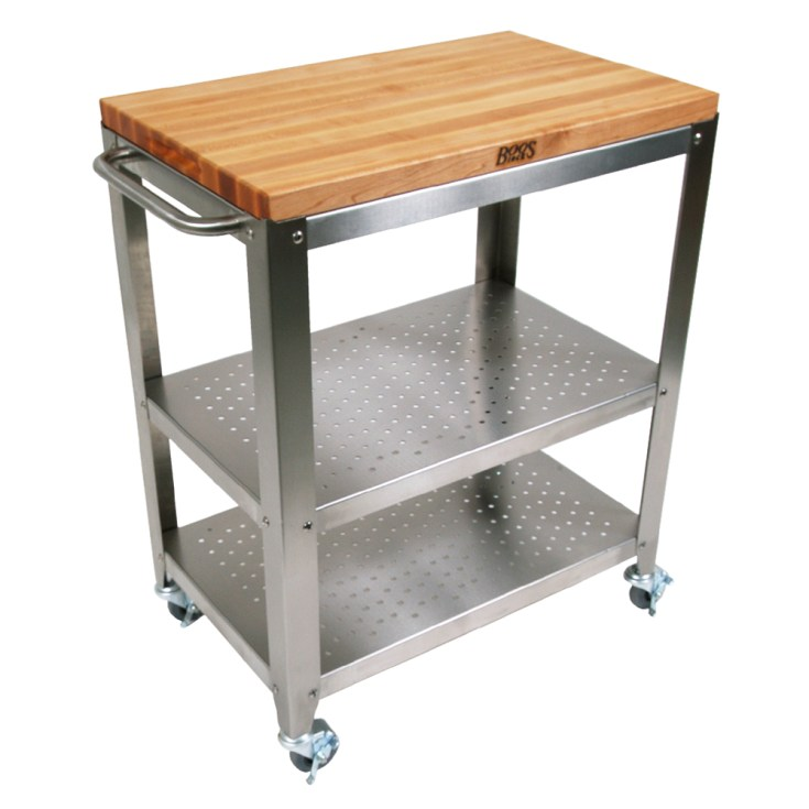 kitchen carts: cucina culinarte - maple removable top, towel bar
