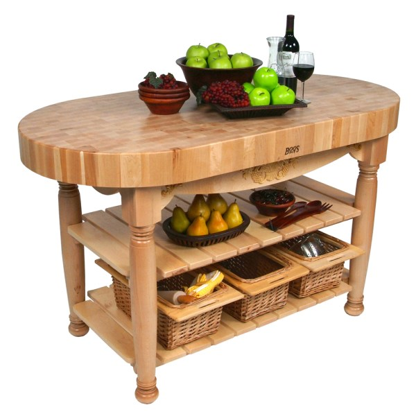 Boos Butcher Block Kitchen Island
