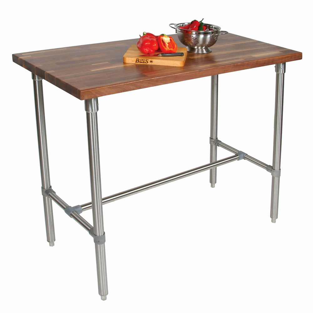 john boos kitchen island aid wall oven islands tables walnut top work table with description model