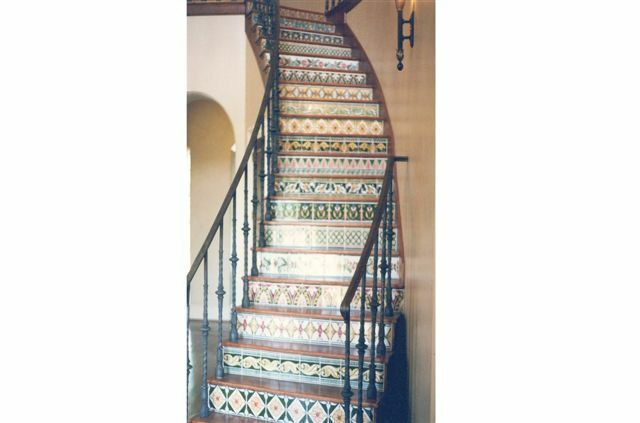 Tileing stair risers