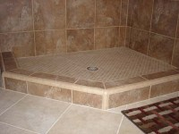 Shower Curb - Shower Dam or Threshold for Tile Showers ...