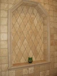 Tile Shower Shampoo Niche - Soap Dish and Shampoo Recess ...